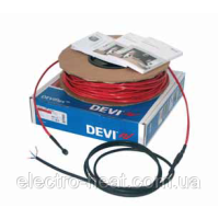 8,2-10,3 м2. Тепла підлога. Нагрівальний кабель DEVIflex™ 18Т
