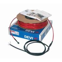 0,7-0,9 м². Тёплый пол. Нагревательный кабель DEVIflex™ 18Т