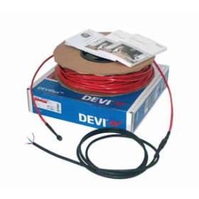 1,0-1,3 м2. Тепла підлога. Нагрівальний кабель DEVIflex™ 18Т