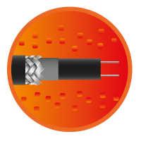 Секция саморегулирующегося кабеля e-HeatGutter - 5м