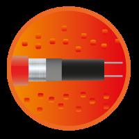 Саморегулирующийся нагревательный кабель eHeat Micro