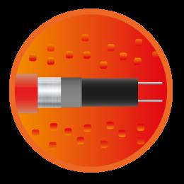 Купити Саморегулюючий нагрівальний кабель eHeat Micro, замовити онлайн Саморегулюючий нагрівальний кабель eHeat Micro за низькою ціною - 320грн.