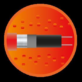 Саморегулюючий нагрівальний кабель eHeat Micro