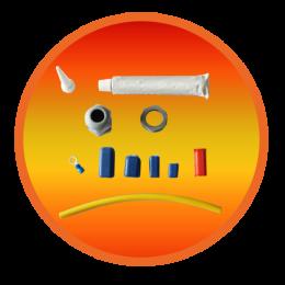 Набор для соединения и оконцевания саморегулирующегося кабеля ThermTrace Connect/End.