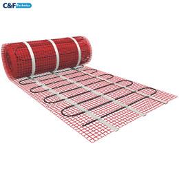 1.0 м².Тёплый пол под плитку. Нагревательный мат HeatWave MHW 150-150-1.0 м²