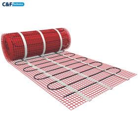 1.0 м² .Тёплый пол под плитку. Нагревательный мат HeatWave MHW 150-150-1.0 м²