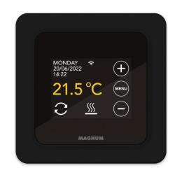 Wi-Fi Термостат сенсорный программируемый Magnum Remote Control чёрный