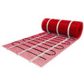 2.5 м2 .Тепла підлога під плитку. Нагрівальний мат HeatWave MHW 150-375-2.5 м2