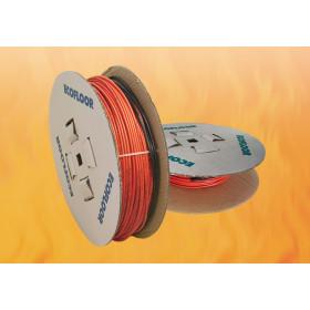 10.0-12.5 м². Тёплый пол. Нагревательный кабель FENIX 23ADSV18-1700, площадь укладки 10-12,5 м²