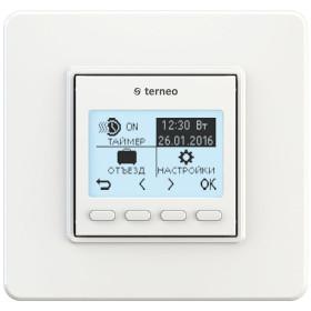 Термостат terneo pro, білий